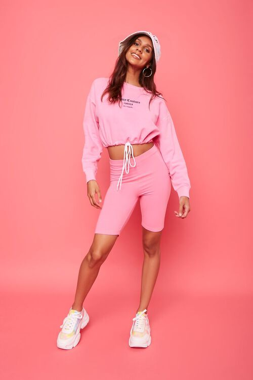 Fleece Juicy Couture Cropped Pullover, image 5