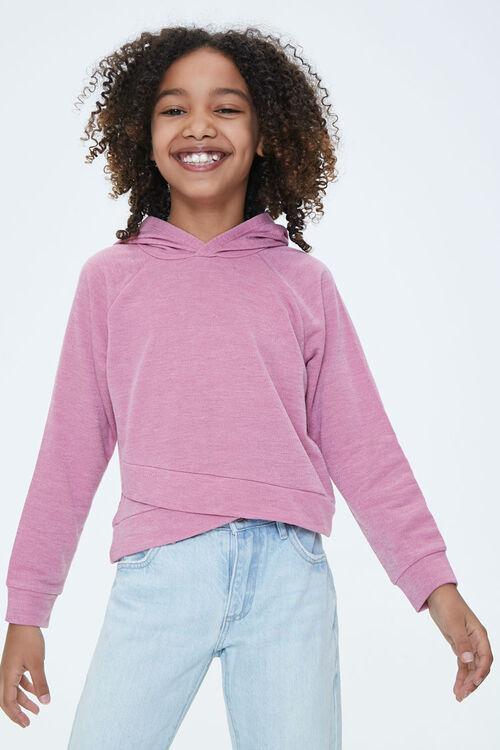 Girls Tulip-Hem Hoodie (Kids), image 1