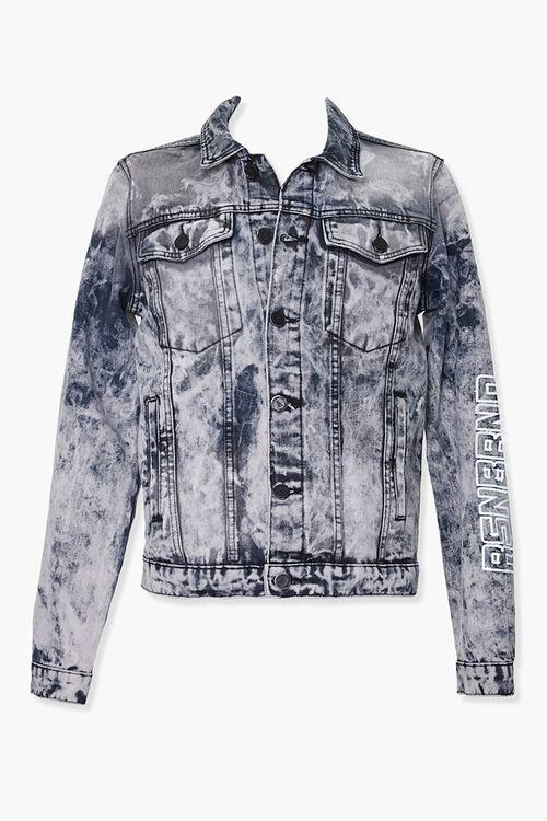 Reason Rose Graphic Denim Jacket, image 1