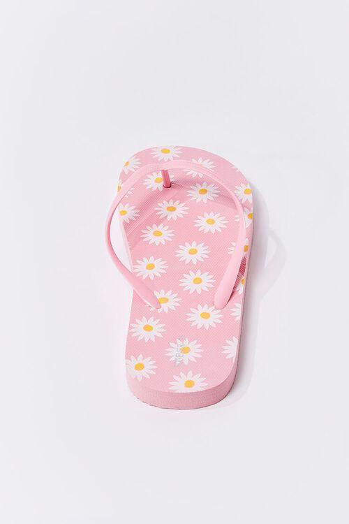 Daisy Print Flip-Flops, image 3