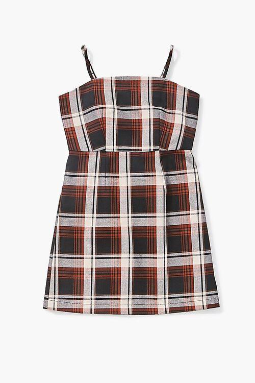 Girls Plaid Cami Dress (Kids), image 1