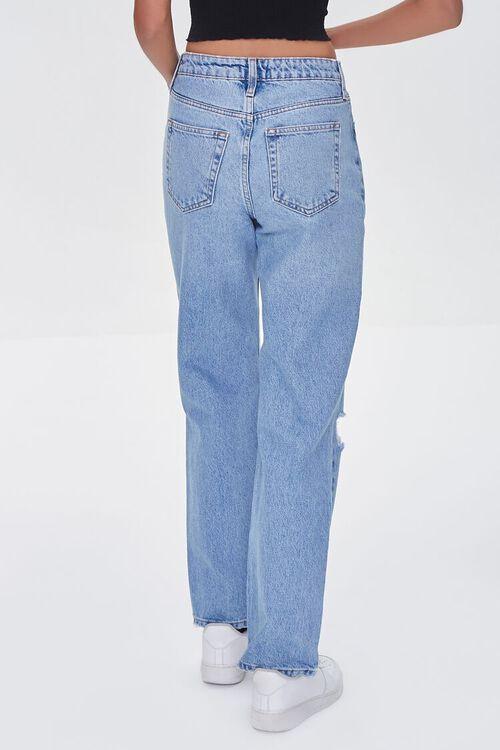 LIGHT DENIM Premium Distressed 90s-Fit Jeans, image 4