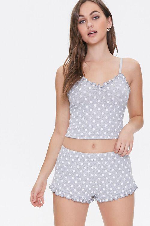 Polka Dot Pajama Shorts, image 1