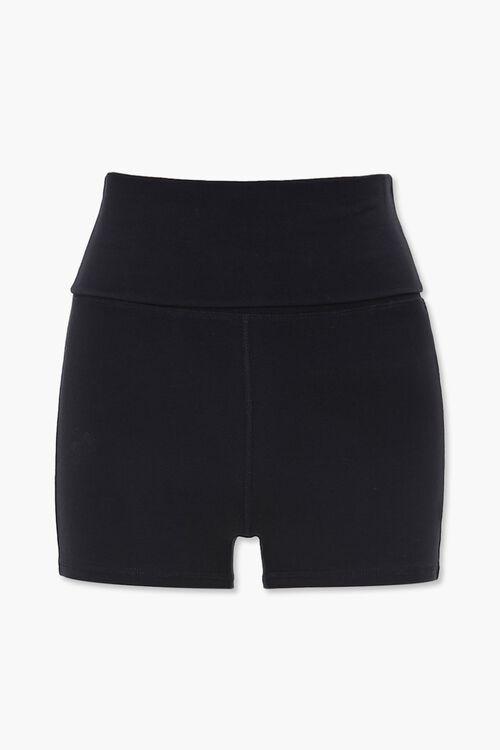 Active Mid-Rise Foldover Shorts, image 1