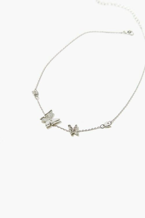 Butterfly Charm Necklace, image 2