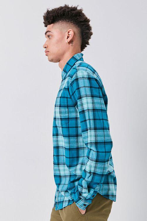 Classic Flannel Plaid Shirt, image 2