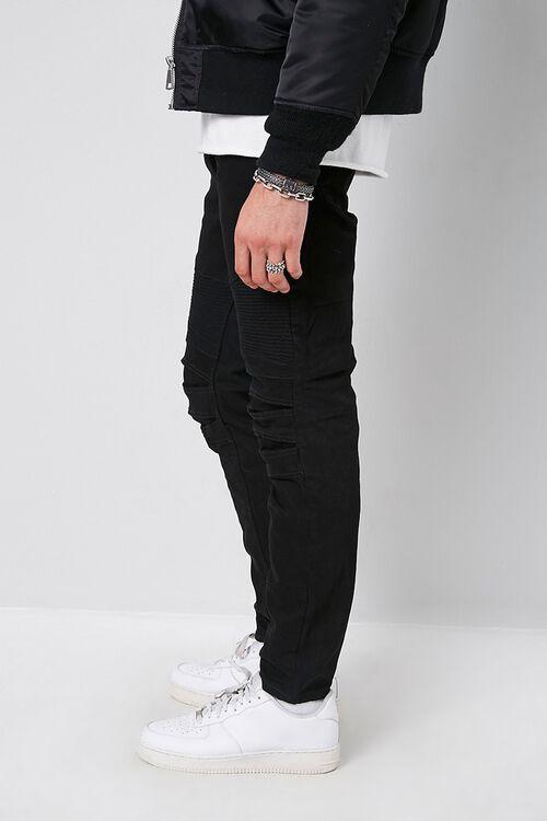 Skinny Moto Denim Pants, image 2