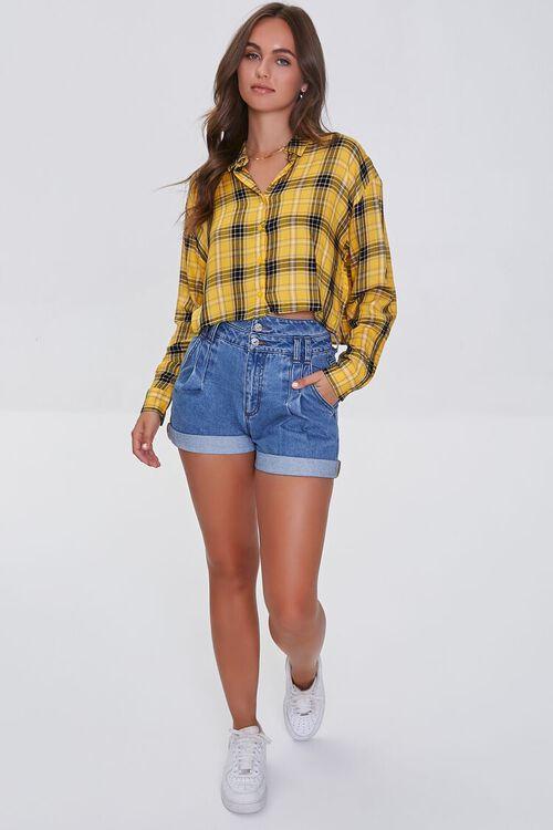 Boxy Plaid Shirt, image 4