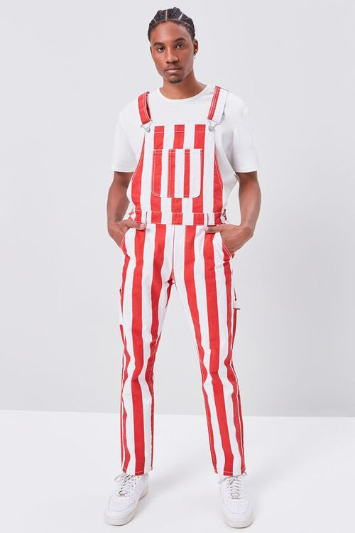 Bold Vertical Striped Overalls, image 4