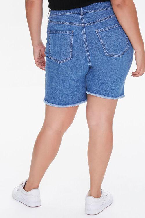 Plus Size Denim Bermuda Shorts, image 4