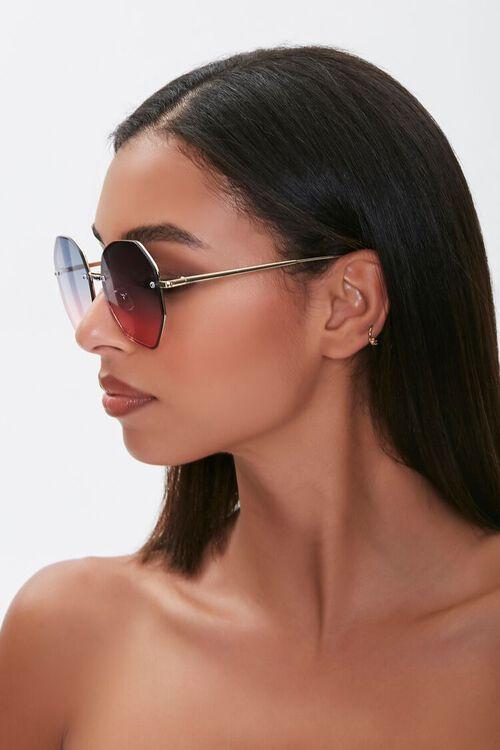 Geo Metal Sunglasses, image 2
