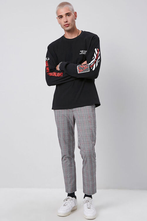 Plaid Woven Trousers, image 5