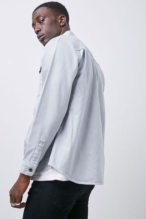 Buttoned Flap Pocket Shirt, image 2