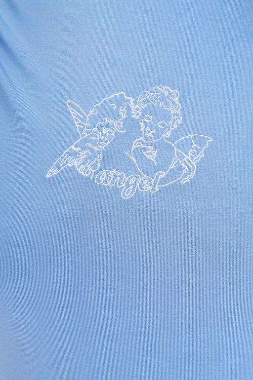 Angel Embroidered Graphic Top, image 5