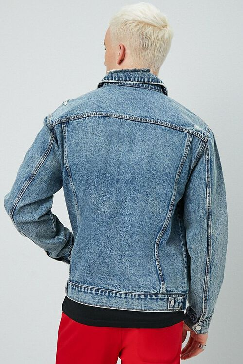 Distressed Denim Jacket, image 3