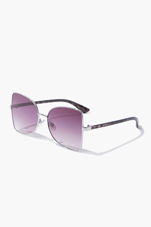 Square Leopard Print Sunglasses, image 2
