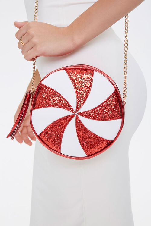 Peppermint Candy Crossbody Bag, image 1