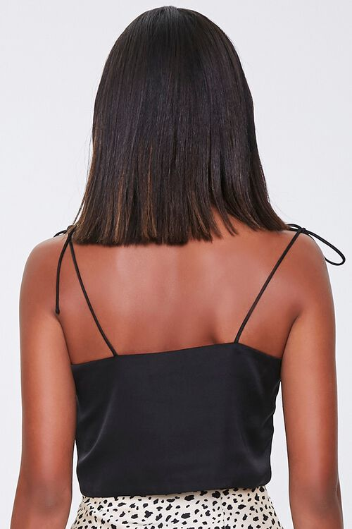Ruched Sweetheart Cropped Cami, image 3