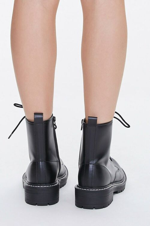 Faux Leather Ankle Boots (Wide), image 3