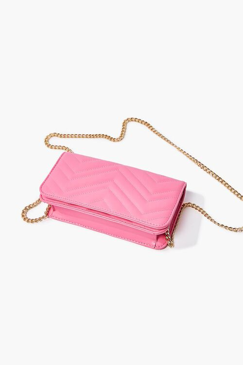Chevron Quilted Crossbody Bag, image 3