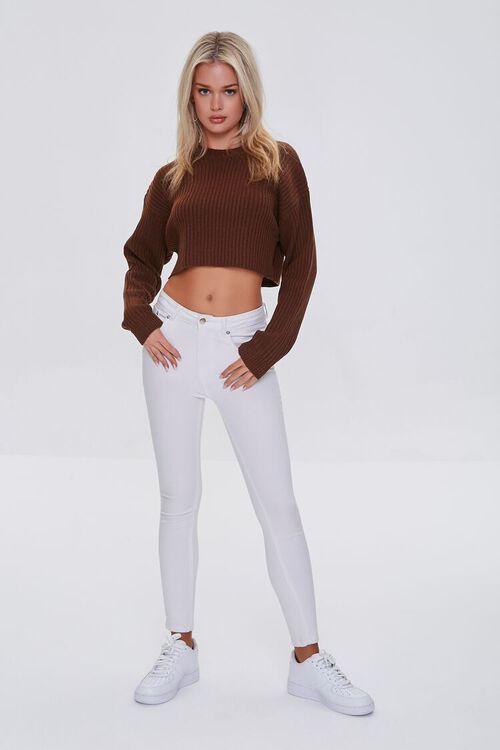 Cropped Dolman Sweater, image 4