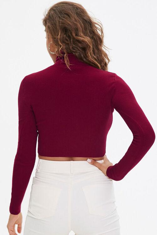 Cropped Turtleneck Sweater, image 3