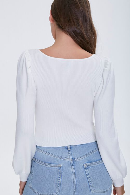 Button-Front Peasant Top, image 3