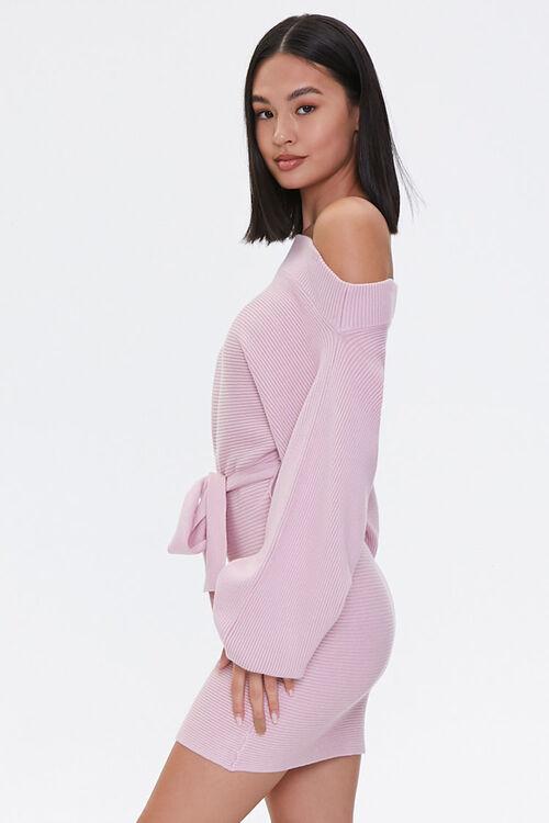 Off-the-Shoulder Sweater Dress, image 2