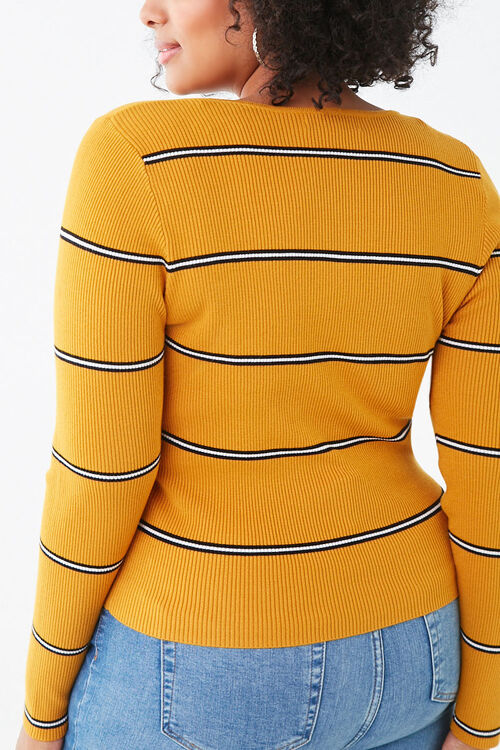 Plus Size Striped Sweater, image 3