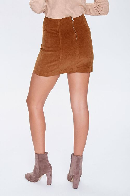 Corduroy Mini Skirt, image 3