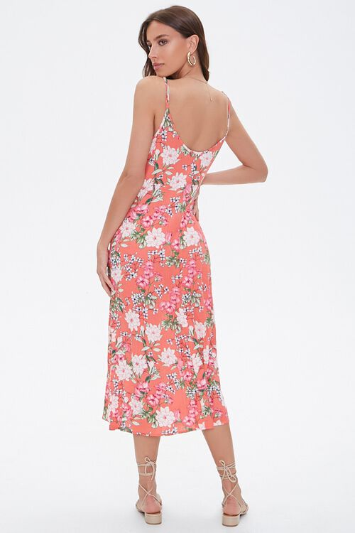 Floral Print Cami Maxi Dress, image 3