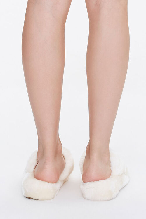 Plush Thong Slippers, image 3