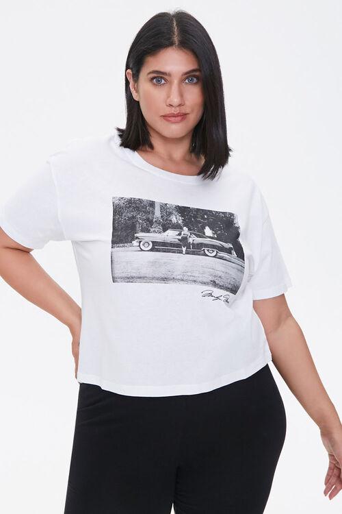 Plus Size Marilyn Monroe Tee, image 1