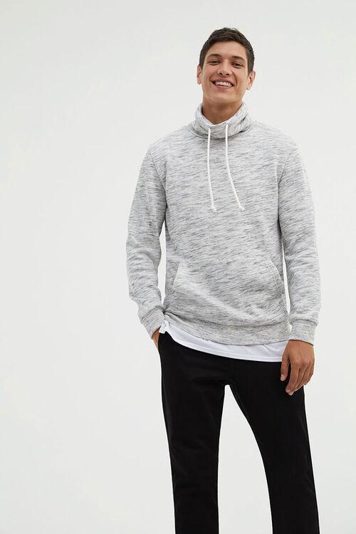 Fleece Turtleneck Pullover, image 1