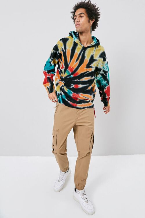 Tie-Dye French Terry Hoodie, image 4