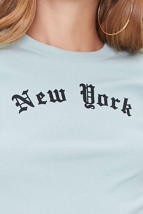 New York Cropped Tee, image 5