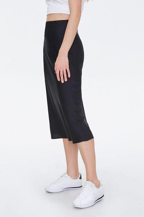 Satin Knee-Length Skirt, image 3
