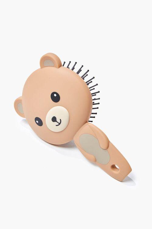 Teddy Bear Graphic Hair Brush, image 1