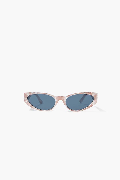 Marbled Oval Sunglasses, image 4