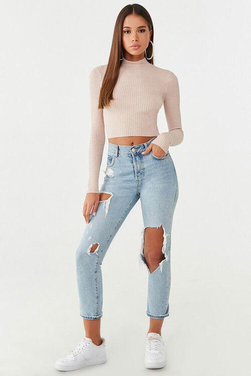 Metallic Ribbed Sweater, image 4