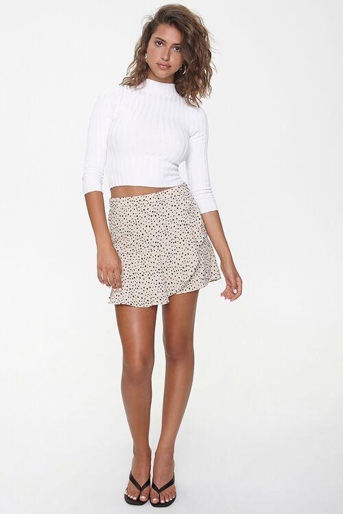 Spotted Print Mini Skirt, image 5