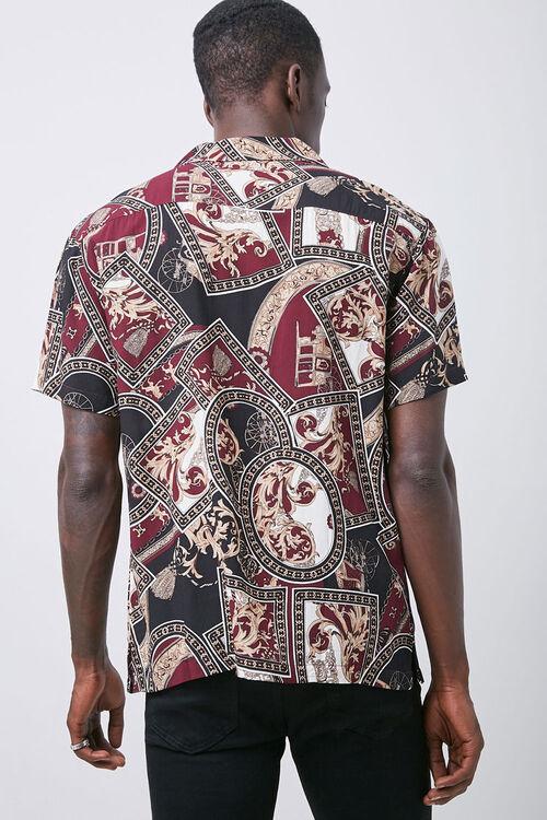 Classic Fit Paisley Shirt, image 3