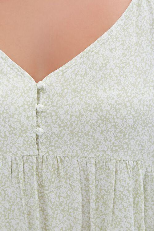 Plus Size Floral Cami Mini Dress, image 5