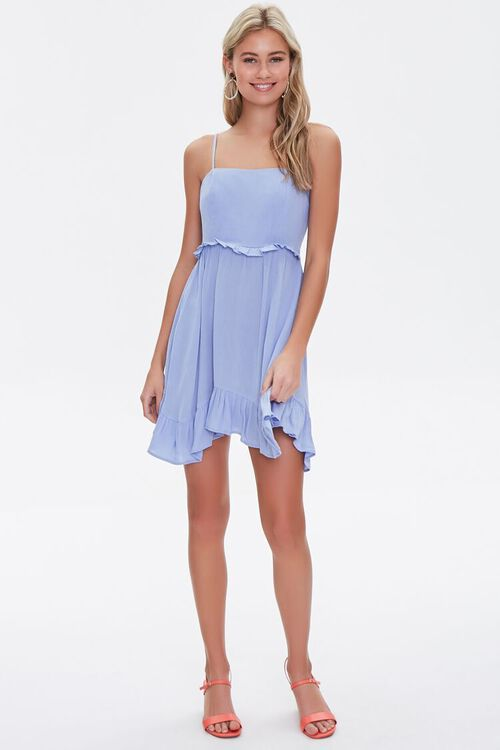Ruffle-Trim Mini Dress, image 4