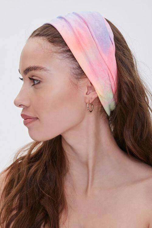 Soft Rainbow Wash Headwrap, image 2