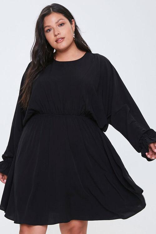 Plus Size Fit & Flare Dress, image 1