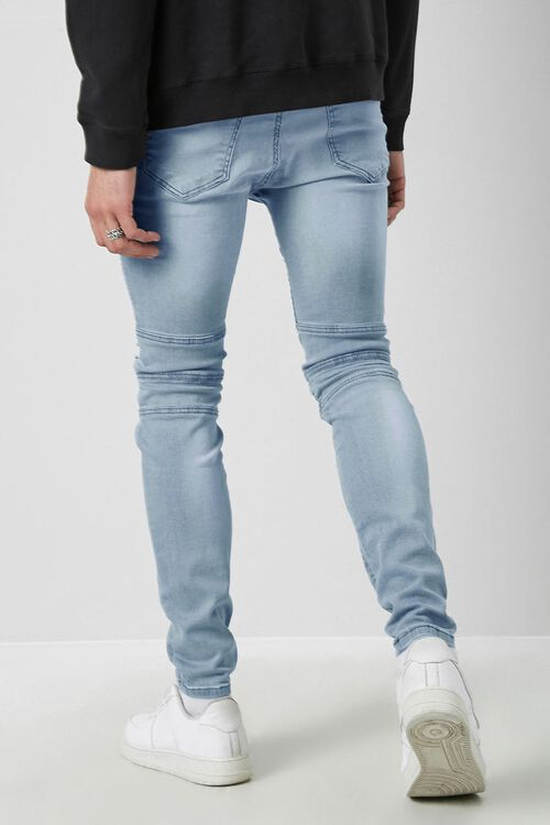 Distressed Moto Skinny Jeans, image 4