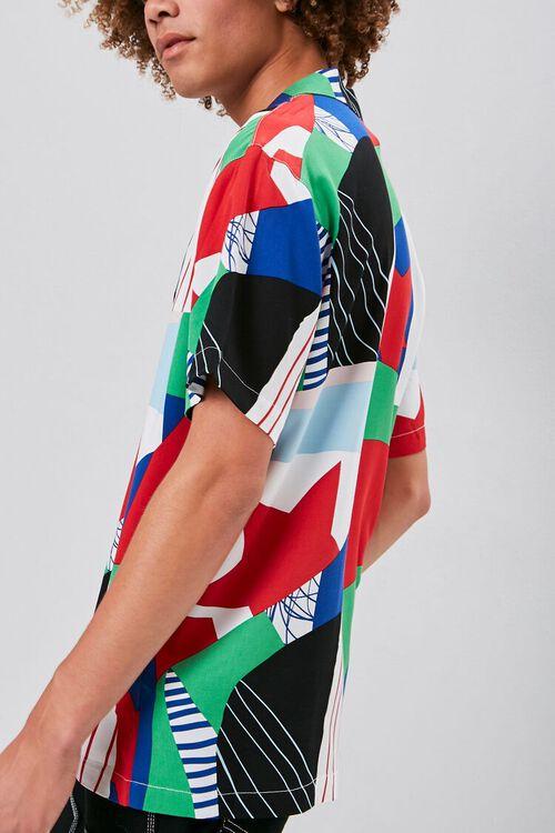 GREY/MULTI Classic Fit Patternblock Shirt, image 2