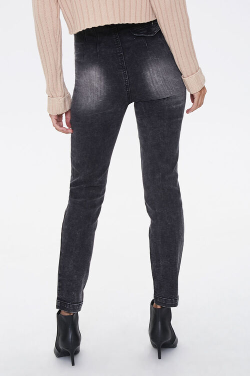 Belted High-Rise Jeans, image 3