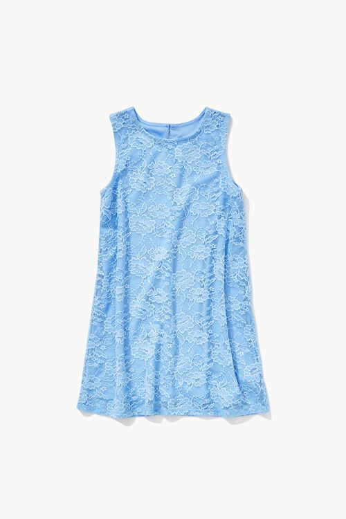 Girls Floral Lace Dress (Kids), image 1